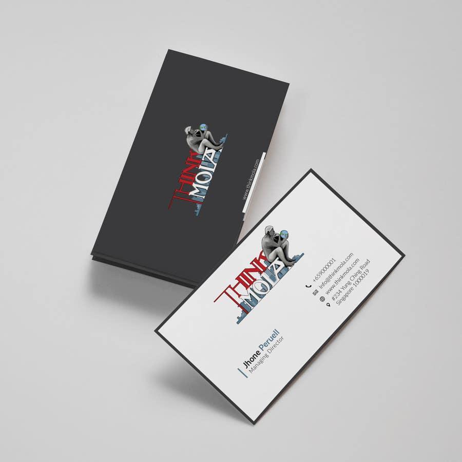 Kilpailutyö #4 kilpailussa Design Business Cards for my company