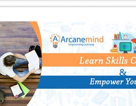 #3 for Design a Banner for  landing page of www.arcanemind.com by dpk2877