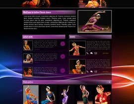 #8 untuk Build a Website for Indian Classical Dance School oleh Manhoc