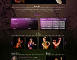 #11 untuk Build a Website for Indian Classical Dance School oleh Manhoc