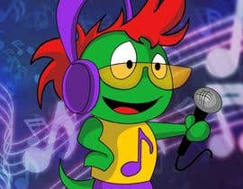 #108 for Mascot for new cool social music app. av Ed04