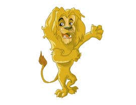 #37 untuk Illustrate Cartoon Lion for New Company oleh nanocb72