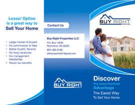 #13 untuk Design a Brochure for real estate investment company oleh naikerhiroko