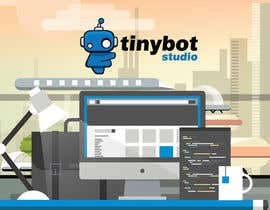 #18 untuk Design a Website Mockup for The TINY BOT STUDIOS oleh leandeganos