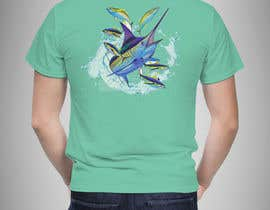 #43 untuk Design a cool fishing shirt for my company Catch the Fever oleh adhikery