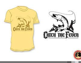 #12 untuk Design a cool fishing shirt for my company Catch the Fever oleh KilaiRivera