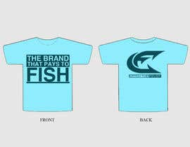 #110 untuk Design a cool fishing shirt for my company Catch the Fever oleh ibanezdustin1314