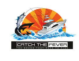 #99 untuk Design a cool fishing shirt for my company Catch the Fever oleh Lovelas