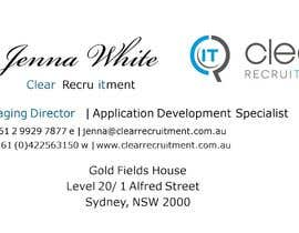 #9 for Recruitment Firm Business Card af xeric777