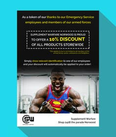 #4 untuk design a poster advertising discounts for emergency service members oleh goranjokanovic