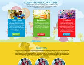 #16 for Design a Website Mockup for A Child Care Centre af aryamaity