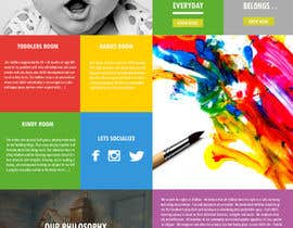 #18 for Design a Website Mockup for A Child Care Centre af ajaygowtam19
