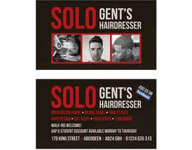 Banj0 tarafından Design some Business Cards for Solo hairdresser ( exact replica) asap için no 3