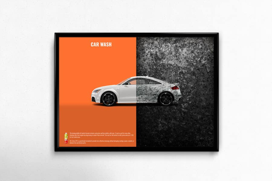 Entry 17 By Acmale For Design A Brochure For A Local Car Wash Car
