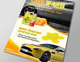 Nro 10 kilpailuun Design a Brochure for a local car wash / car detailing center käyttäjältä lardher