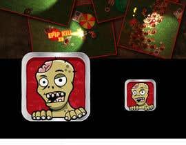 Nro 8 kilpailuun Design - 2D Zombie Game Icon käyttäjältä Bebolum