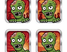 #27 cho Design - 2D Zombie Game Icon bởi Bebolum