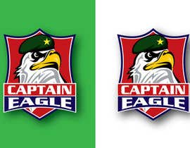 #41 for Design a Logo for CAPTAIN EAGLE af temoorskhan