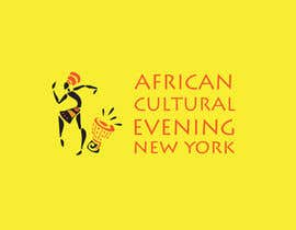 "#29 for Design a Logo for the ""African Cultural evening NY"" af Darusalam"
