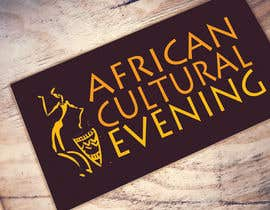"#17 for Design a Logo for the ""African Cultural evening NY"" by rumyanamileva"