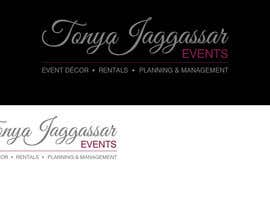 #155 for Design a Logo for Tonya Jaggassar Events by velimirprostran