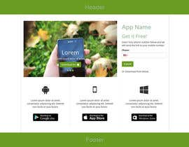 #4 cho Build a Landing Page for App Download (design + coding) bởi shakib609