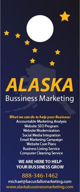 Inscrição nº 9 do Concurso para Design an Advertisement for Alaska Business Marketing