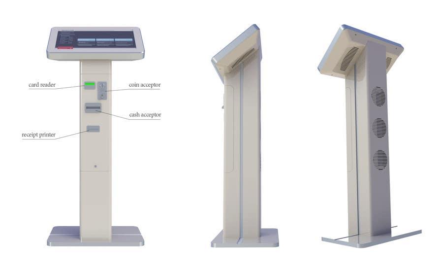 Kilpailutyö #27 kilpailussa Design me a Product for Touch screen kiosk