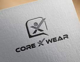#70 untuk Design a Logo for Core X Wear Athletic Apparel oleh brokenheart5567