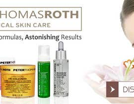 #41 for Design a Banner for Peter Thomas Roth by kevalthacker