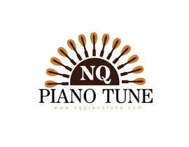 #8 para Design a Logo for NQ PIANO TUNE por sadekahmed