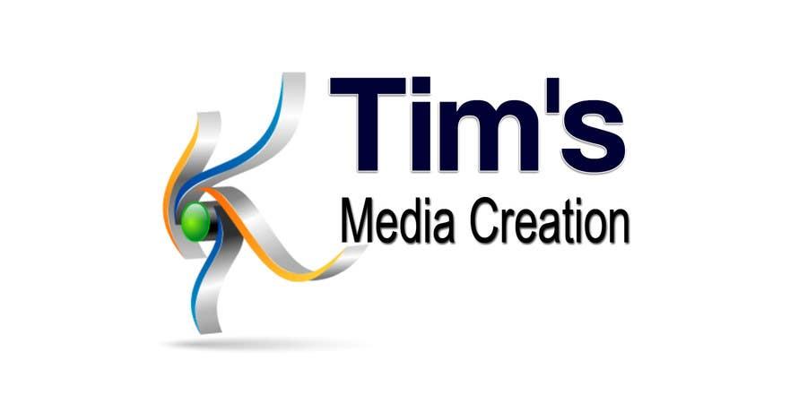 Penyertaan Peraduan #42 untuk Design a Logo for Tim's Media Creations