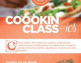 #20 para Design a Flyer for a Cooking Class por vernequeneto