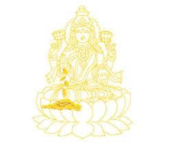 Nro 11 kilpailuun Elegant Business Logo consisting of Hindu Goddess Mahaalakshmi käyttäjältä Amtfsdy