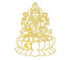 Nro 13 kilpailuun Elegant Business Logo consisting of Hindu Goddess Mahaalakshmi käyttäjältä Amtfsdy