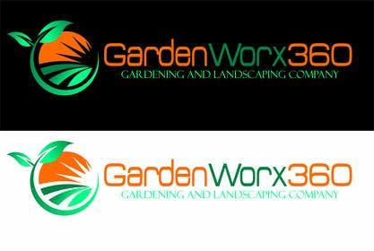 Nro 72 kilpailuun Design a Logo for www.GardenWorx360.Co.Uk käyttäjältä olja85