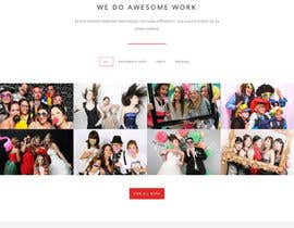 #16 for Template Wordpress for Photography Services / Template para wordpress para aluguel de cabine fotográfica af SHRIHITECH