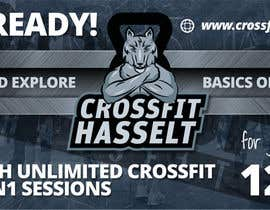 #45 for Ontwerp een Advertentie for Crossfit Hasselt by zanlete