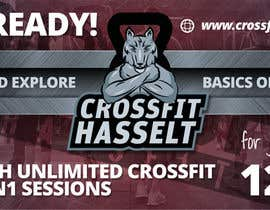 #46 for Ontwerp een Advertentie for Crossfit Hasselt by zanlete