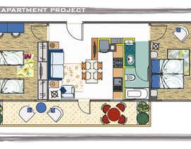 #15 for 2D apartment project af biodomo