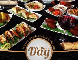 Tommy50 tarafından Design a Flyer for Restaurant Fathers Day Event için no 7