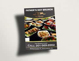 igraphicdesigner tarafından Design a Flyer for Restaurant Fathers Day Event için no 8