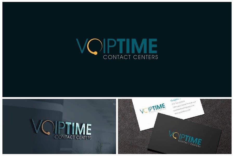 Penyertaan Peraduan #124 untuk Design a Logo for VoIPTime
