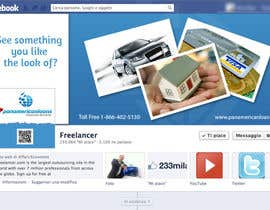 #4 for FACEBOOK LANDING PAGE!! NEED TO BE CREATIVE!!! by holecreative