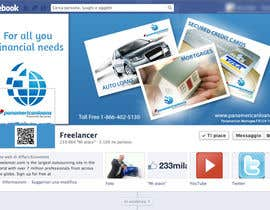 #9 for FACEBOOK LANDING PAGE!! NEED TO BE CREATIVE!!! by holecreative