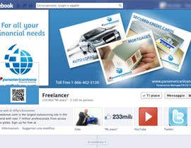 #10 for FACEBOOK LANDING PAGE!! NEED TO BE CREATIVE!!! by holecreative