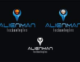 #77 para Design a Logo for Alienman Technologies por noelniel99