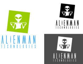 #32 para Design a Logo for Alienman Technologies por riskogab