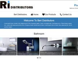 #8 untuk Design a Website Mockup for Wholesale Plumbing Distributor oleh Ashucg
