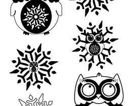 TeamPK tarafından Need some loving snowflake+owl graphics for my wedding için no 17